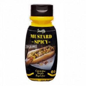 Servivita Salsa Mostaza Picante 0% Servivita 300 ml
