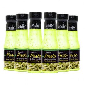2bSlim Pack de 6 Sauces Pesto 0% 2bSlim 250 ml