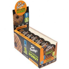 JIM BUDDY'S Pack de 6 Donuts Protéinés Goût Chocolat-Orange Jim Buddy's