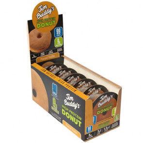 JIM BUDDY'S Pack de 6 Donuts Protéinés Beurre de Cacahuète Jim Buddy's