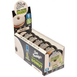 JIM BUDDY'S Pack de 6 Donuts Protéinés Goût Vanille Jim Buddy's