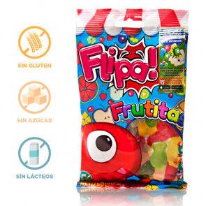 Flipa Bonbons sans Sucre Fruits Flipa 80 g