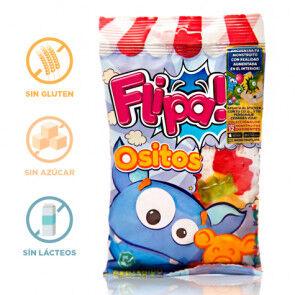 Flipa Bonbons sans Sucre Oursons Flipa 80 g