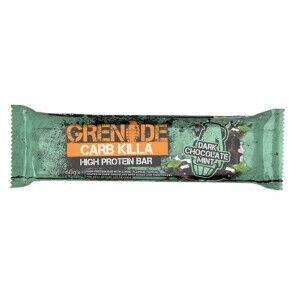 Grenade Barre Protéinée Carb Killa goût Chocolat Noir à la Menthe 60 g