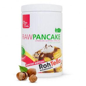 Clean Foods Préparation pour Pancakes Low-Carb Raw goût RawTella Clean Foods 425 g