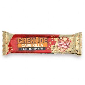 Grenade Barre Protéinée Carb Killa goût Chocolat Blanc et Cacahuète Salée Grenade 60 g