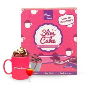 Clean Foods Mug Cake Low-Carb Slim Cake goût Myrtilles Clean Foods 300 g