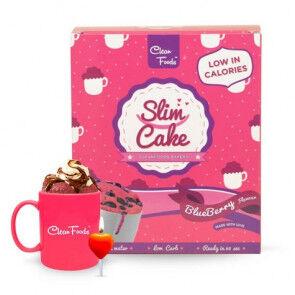 Clean Foods Mug Cake Low-Carb Slim Cake goût Myrtilles Clean Foods 300 g