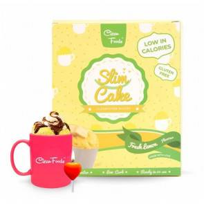 Clean Foods Mug Cake Low-Carb Slim Cake goût Citron Clean Foods 300 g