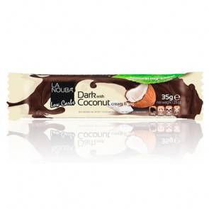 LaNouba Barre Low-Carb au Chocolat noir au lait de coco LaNouba 35 g