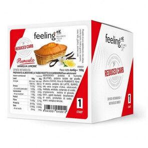 FeelingOk Gâteau FeelingOk PlumCake Start Vanille-Citron 180 g