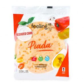 FeelingOk Tortilla FeelingOk Piada Start 100 g 2 unités