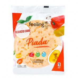 FeelingOk Tortilla FeelingOk Piada Start 100 g 2 unités