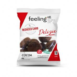 FeelingOk Biscuits FeelingOk Delizia Start Cacao 50 g
