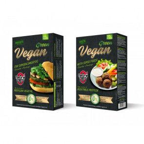 Natural Zero Burger Vegan Green Protein Natural Zero 191g
