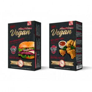 Natural Zero Burger Vegan American Protein Natural Zero 199g