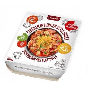 Quamtrax Nutrition Poulet à la sauce Hunter avec boulgour et légumes Quamtrax 300 g