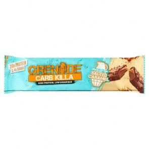 Grenade Barre Protéinée Carb Killa goût Caramel salé aux pépites de chocolat Grenade 60 g