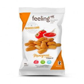 FeelingOk Minigriss Mini Grissinis Optimize Tomate 50 g