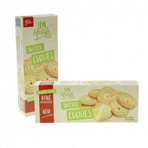 LCW Cookies au beurre sans sucre ajouté LCW 135g