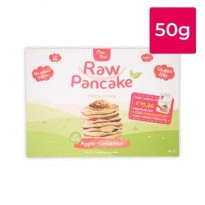 Clean Foods Monodose pour Pancakes Low-Carb Raw goût Pomme-Cannelle Clean Foods 50g