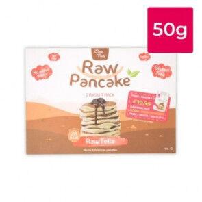Clean Foods Monodose pour Pancakes Low-Carb Raw goût RawTella Clean Foods 50g