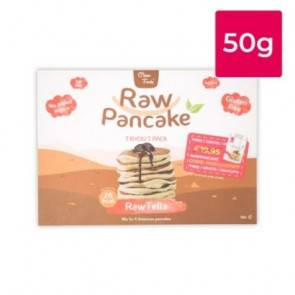 Clean Foods Monodose pour Pancakes Low-Carb Raw goût RawTella Clean Foods 50g