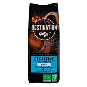 Destination Bio Café Moulu Décaféiné Doux 100% Arabica Bio Destination 250g