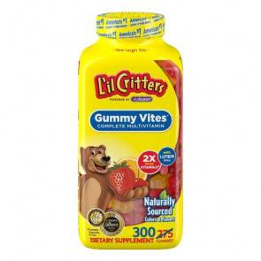 Northwest Natural Products Multivitamínico Multimineral Niños 300 Ositos L'il Critters