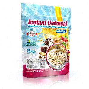 Quamtrax Nutrition Flocons d'avoine aromatisés Neutre Quamtrax 2 kg