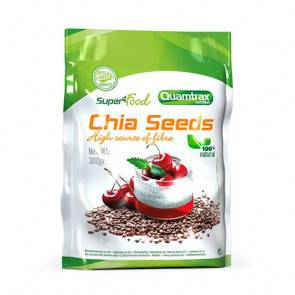 Quamtrax Nutrition Graines de chia Superfood Quamtrax 300 g