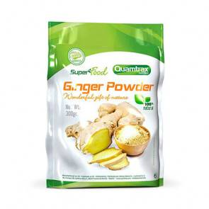 Quamtrax Nutrition Graines de gingembre Superfood Quamtrax 300 g