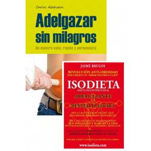 OutletSalud Pack Livres Adelgazar sin Milagros + Isodieta