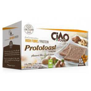 CiaoCarb Biscottes au Cacao CiaoCarb Prototoast Phase 2 200 g