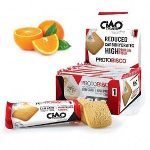 CiaoCarb Pack de 10 Biscuits CiaoCarb Protobisco Phase 1 Orange