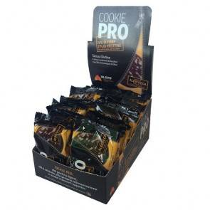 Alevo Pack de 24 Cookie Pro Abricot Recouvert de Chocolat Noir Alevo 13,6 g
