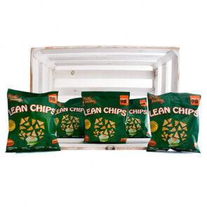 Purely Snacking Pack de 36 Lean Chips (Nachos Proteinados) Crema Agria y Cebolla Purely Snacking