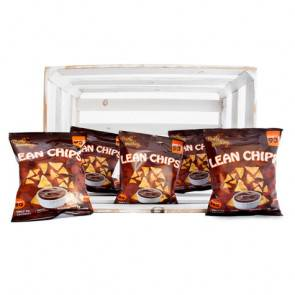 Purely Snacking Pack de 36 Lean Chips (Nachos Proteinados) Barbacoa Purely Snacking