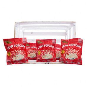 Purely Snacking Pack de 36 Lean Popcorn Palomitas Proteinadas Barbacoa Purely Snacking