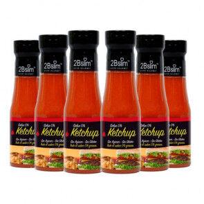 2bSlim Pack de 6 Sauces Ketchup 0% 2bSlim 250 ml