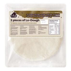Lo-Dough Flatbread faible en glucides Lo-Dough 2x28g