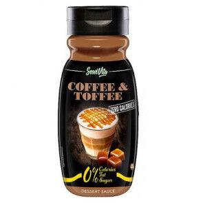 Servivita Sirope de Café y Caramelo 0% Servivita 320 ml