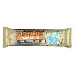 Grenade Barre Protéinée Carb Killa goût Biscuit au Chocolat Blanc Grenade 60 g