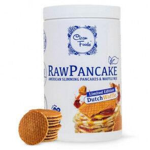 Clean Foods Préparation pour Pancakes Low-Carb Raw goût Gaufre Clean Foods 425 g