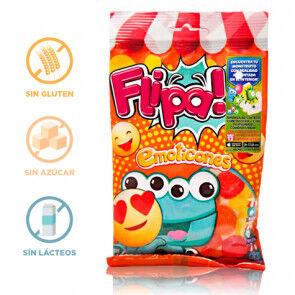 Flipa Bonbons sans Sucre Émoticônes Flipa 80 g