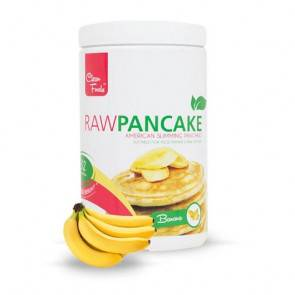 Clean Foods Préparation pour Pancakes Low-Carb Raw goût Banane Clean Foods 425 g