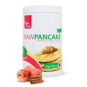 Clean Foods Préparation pour Pancakes Low-Carb Raw goût Pomme-Cannelle Clean Foods 425 g
