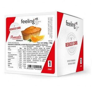 FeelingOk Gâteau FeelingOk PlumCake Start Orange 180 g