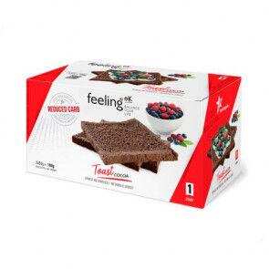 FeelingOk Biscottes au Cacao FeelingOk Start 160 g