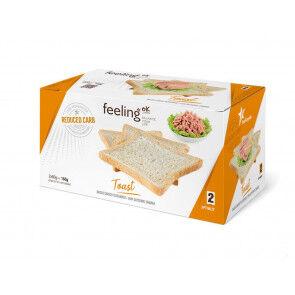 FeelingOk Biscottes Natures FeelingOk Optimize 160 g